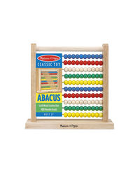 Melissa And Doug Wooden Abacus, Age 3