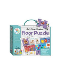 Building Blocks Let'S Count Numbers Floor Puzzle, multi