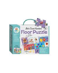 Building Blocks Let'S Count Numbers Floor Puzzle, multi