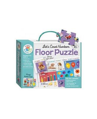Building Blocks Let S Count Numbers Floor Puzzle, multi