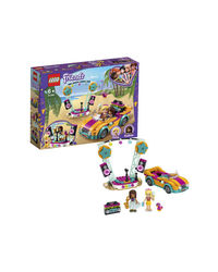 Lego Friends Andrea's Car & Stage Building Blocks, Age 6+