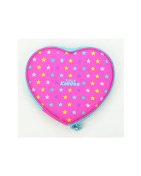 Heart Pencil Box Pink