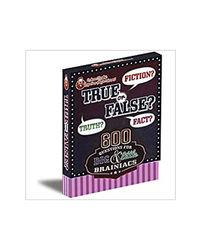 Professor Murphy'S Game Cards: True Or False?, multi