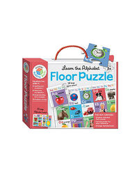 Building Blocks Learn The Alphabet Floor Puzzle, multi