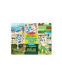 Melissa And Doug Reusable Sticker Pads Habitats, Age 3+