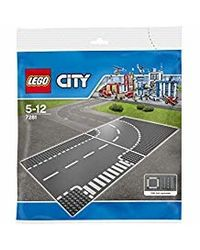LEGO City Supplementary7281 T-junction & Curve7281