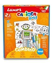 Carioca Combino Robots_ Puzzle+ 8 Colors
