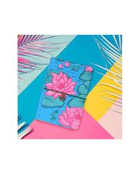 Blushing Lotus Notebook, multicolour