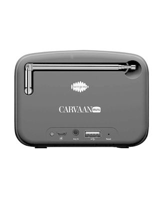 Carvaan Mini 2.0-Moonlight Black-Hindi, multicolour