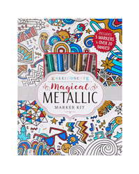 Kaleidoscope Magical Metallic Marker Kit, na