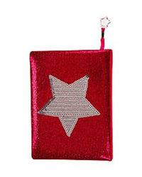 Star Glitter Notebook, mix