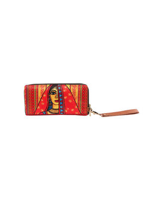 Wallets And Clutches: W09-152, terracotta brown