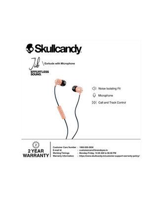Skullcandy Jib Wired In-Earphone With Mic (Sunset/Black)