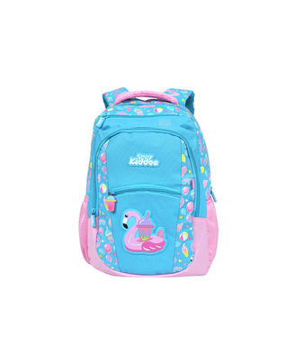 Smily Dual Color Backpack Light Blue