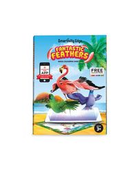 Smartivity Edge Fantastic Feathers Augmented Reality Colouring Sheets, Age 3+