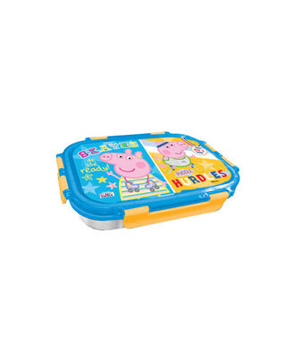 Peppa Pig & George Blue & Yellow Lunch Box