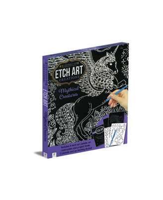 Kaleidoscope Creations Etch Art Mythical Creatures, na