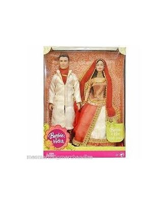 Barbie & Ken In India Doll, Age 3+