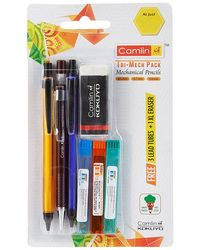 Tri-Mech Pack Set Of 3 With Leads & Xl Eraser Free