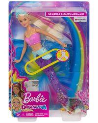 Barbie Dreamtopia Sparkle Lights Mermaid Doll, Age 3+