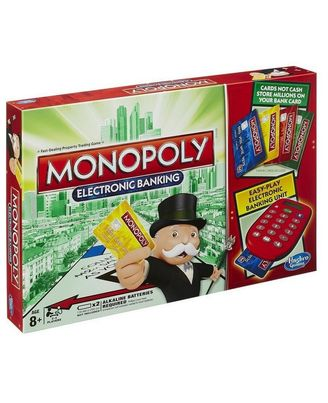 Hasbro Games Monopoly Electronic Banking, Age 8+