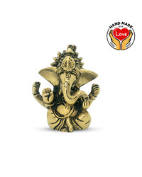 2Inches Crown Ganesha Mini