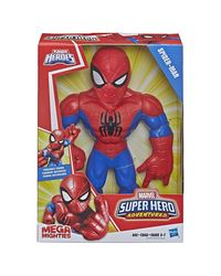 Super Hero Adventure Mega Spider Man Action Figure, Age 3-7+