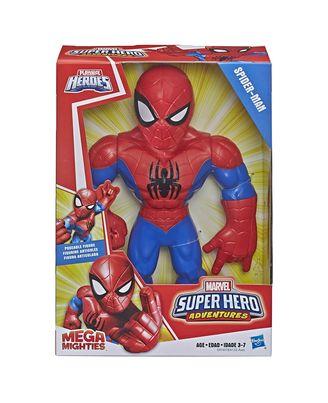 Super Hero Adventure Mega Spider Man Action Figure, Age 3-7+