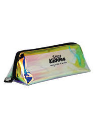 Smily Holograph Pencil Pouch Black