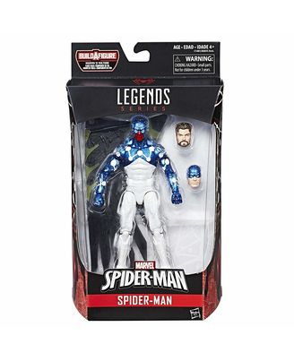 Marvel The Amazing Spider Man 2 Legends Infinite Series Movie Spiderman 1 Action Figure, Black