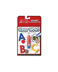 Melissa And Doug Water Wow! Alphabet Water Reveal Pad, Age 3+