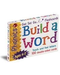 Phonics Get Set Go Flashcards Build A Word, multi
