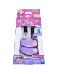 Go Glam Nail Fashion Pattern Pack Asst, Age 8+