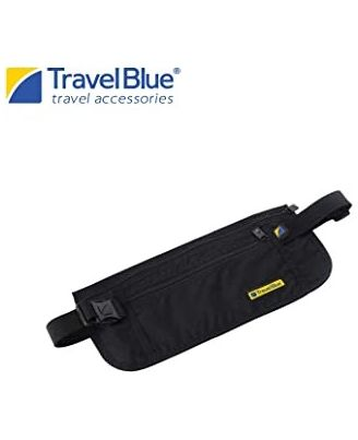 Travel Blue Waist Pouch Ultra Slim Money Safe