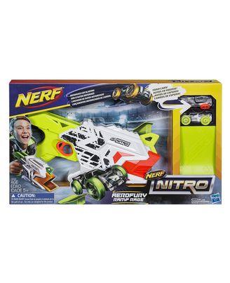 NERF Guns Nitro Aerofury Ramp Rage Blaster, Age 5+