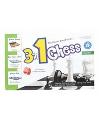 Dr. Mady Chess 3 In 1 Board Game, Age 6 To 8 Years