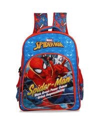 Spiderman Thwipp Blue School Bag 41 cm