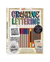 Art Maker Creative Lettering Masterclass, multi