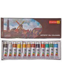 Artist's Oil Colour Box (9ml X 12 Shades)