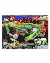 NERF Guns Zombiestrike Outbreaker Bow Blaster, Age 8+