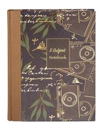 5 Subject Inscribe Notebook (R) Size A4( Pages -400P) - B