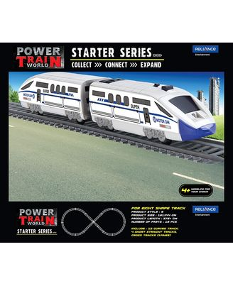 Power Train Turbo 8 Shaped Starter Series Train Set, Age 3+
