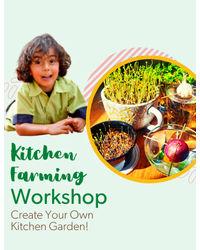 Kitchen Farming - June 5th, 11: 00 am– 12: 15 pm