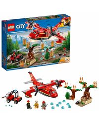Lego City Fire Plane Building Blocks, Age 6+