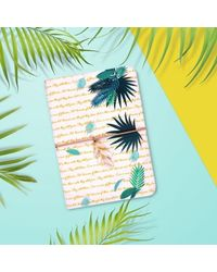 Lush Fabric Notebook, multicolour