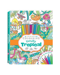 Kaleidoscope Colouring Totally Tropical Marker Kit, na