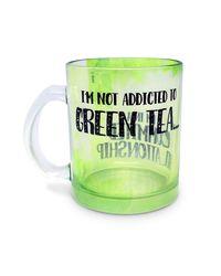 I'M Not Addicted - Green Tea Mug