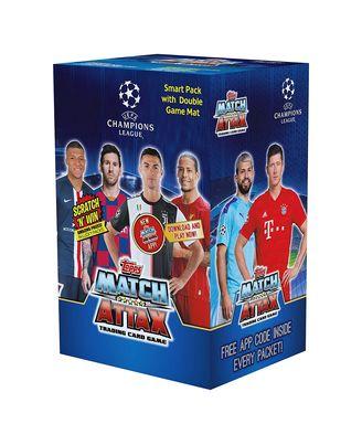 Uefa Cards 2019 - 20 Smart Pack, Age 5+