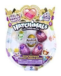 Hatchimals Colleggtibles S6 4 Pack+ Bonus, Age 5+