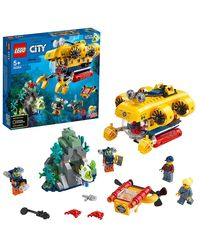 LEGO CITY: Ocean Exploration Submarine, Age 5+